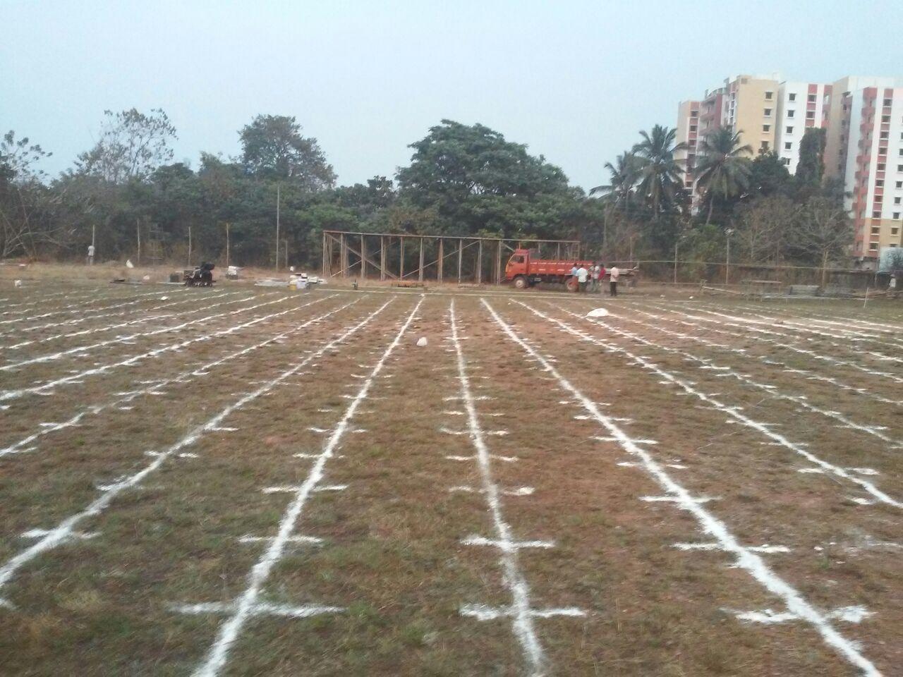 Kasaragod - Ground Marking