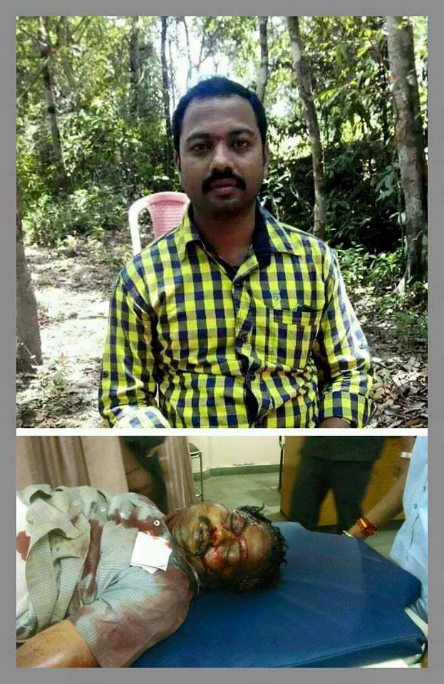 Vishwanath, 32, died in the violence