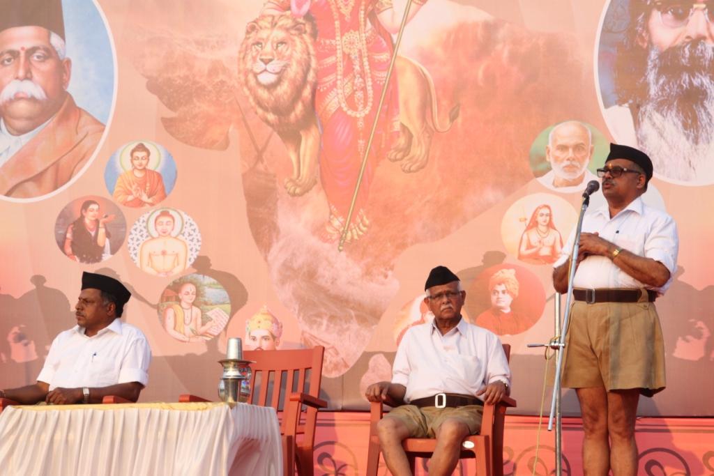 Mangesh Bhende addressing
