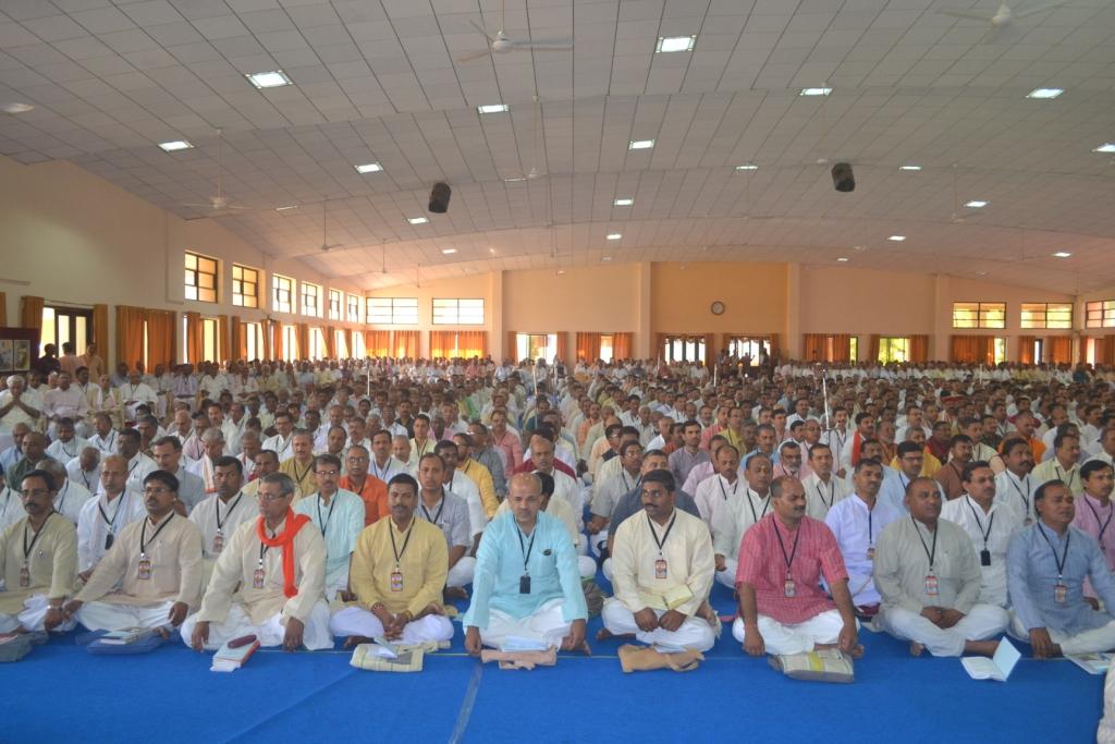 RSS Annual Report submitted by Sarakaryavah Bhaiyyaji Joshi at ABPS meet Nagpur