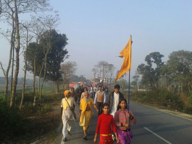 Bharat Parikrama Yatra entered West Bengal on March 05-2015