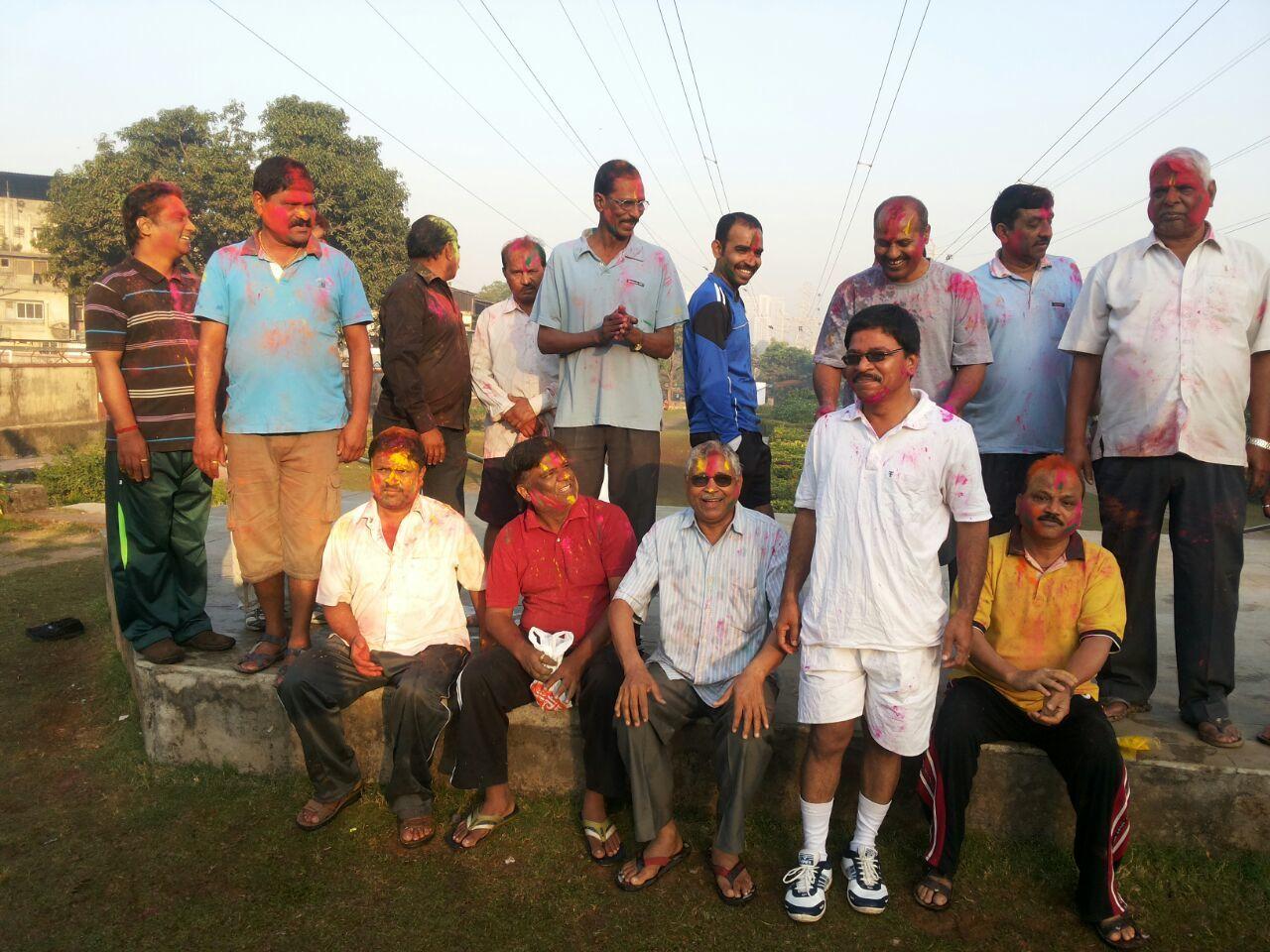 Holi News: RSS Swayamsevaks Celebrated Holi, The Festival Of Colours