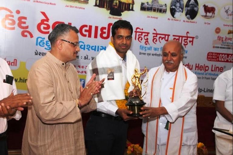VHP Hindu Ratna for Gopichand