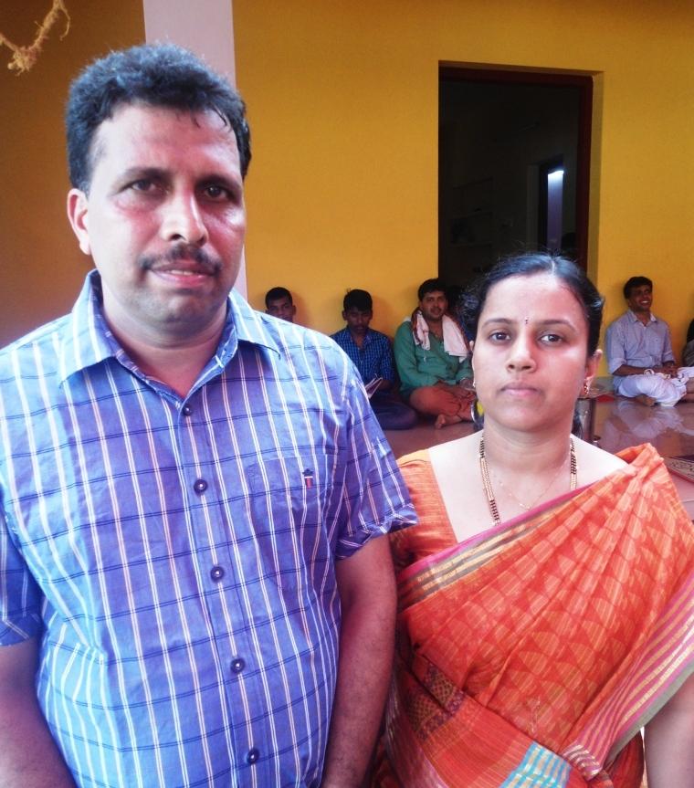 Sri Ramesh Bhat and Smt Archana Ramesh Bhat