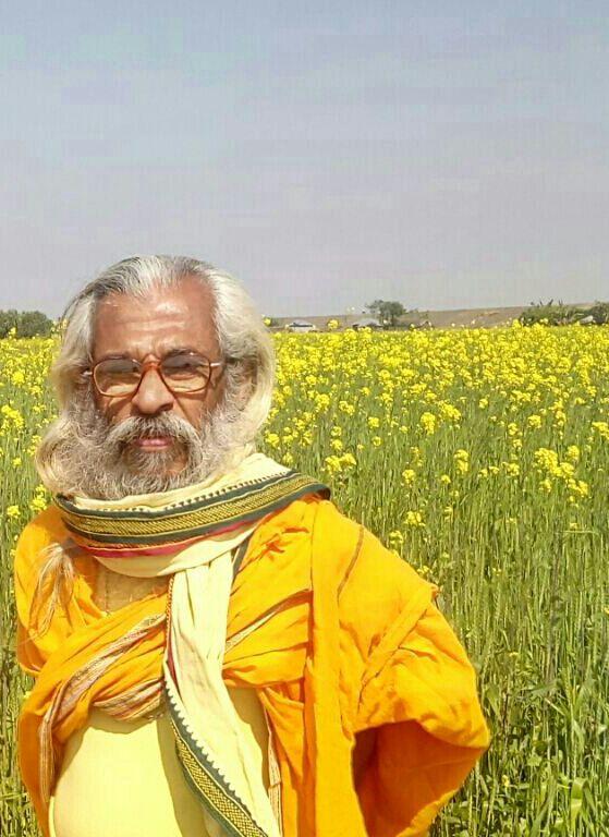 Sitaram Kedilaya, leading BHARAT PARIKRAMA YATRA, now in Assam