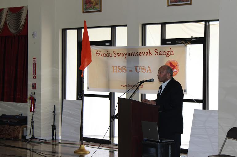 Keynote address delivered by Ved Nanda, Professor of International Law and HSS USA president.