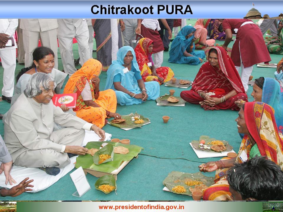 Kalam at Chitrakoot Nanaji Deshmukh