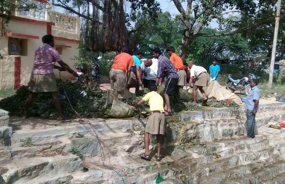 Kalyani cleaning at Kolar (16)