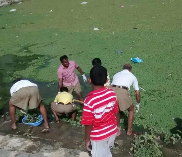 Kalyani cleaning at Kolar (18)
