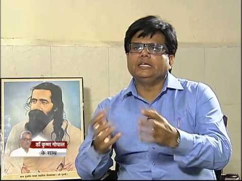 VIDEO: 'Seedha Samwad' in DD news with Dr Krishna Gopal, Sahasarakaryavah of RSS