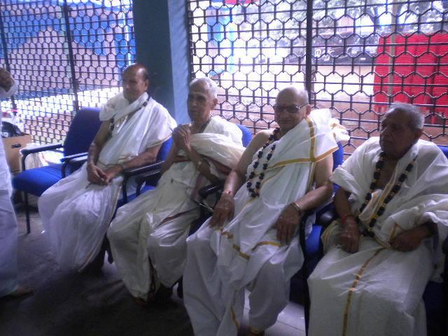 81st Birthday Na krishnappa Vazhe KS Nagaraj Narahari