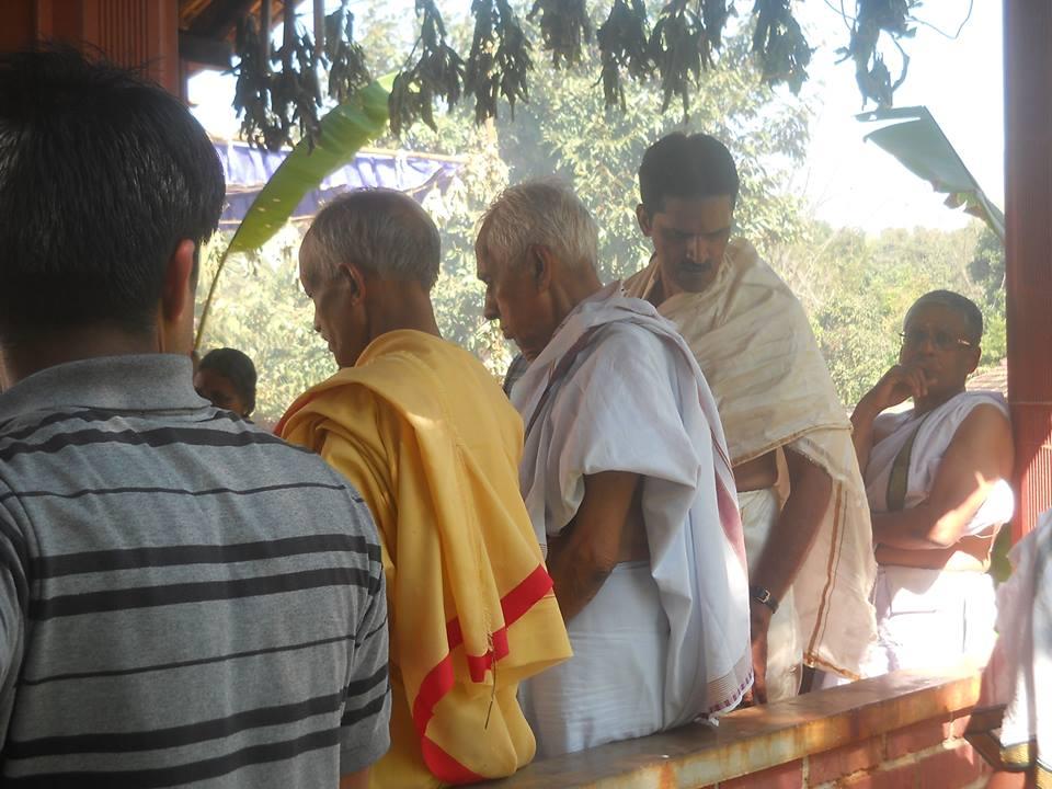 Na Krishnappa at Prabhodhini Gurukula Special Pooja Jan 22-2014