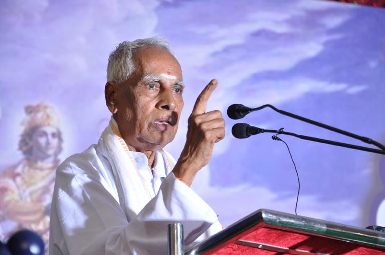 Na Krishnappa at Vishwa Sanketi Sangama