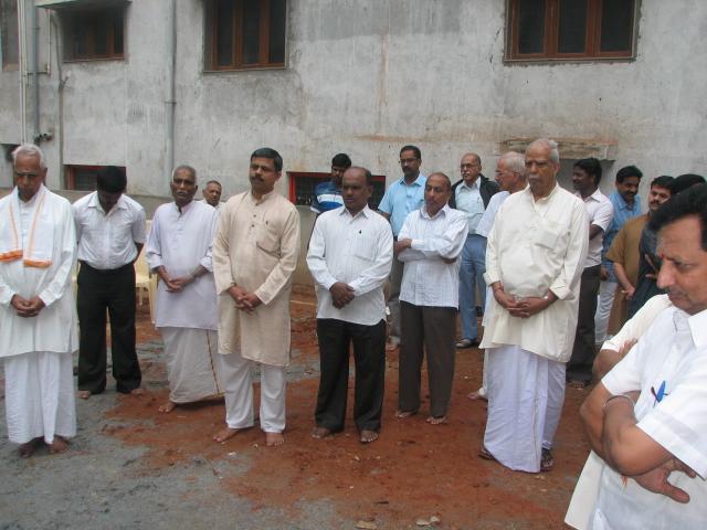 Na-Krishnappa-ji-at Vikrama-BHOOMIPUJAN