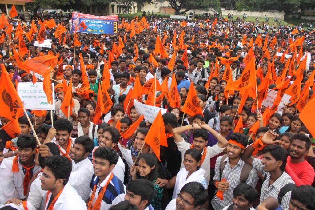 ABVP Maharally Bangalore 1 (1)