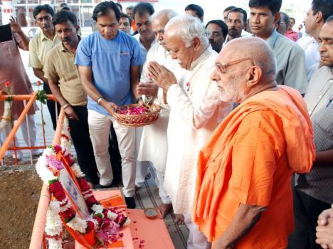 Bhagwat at Rishikesh