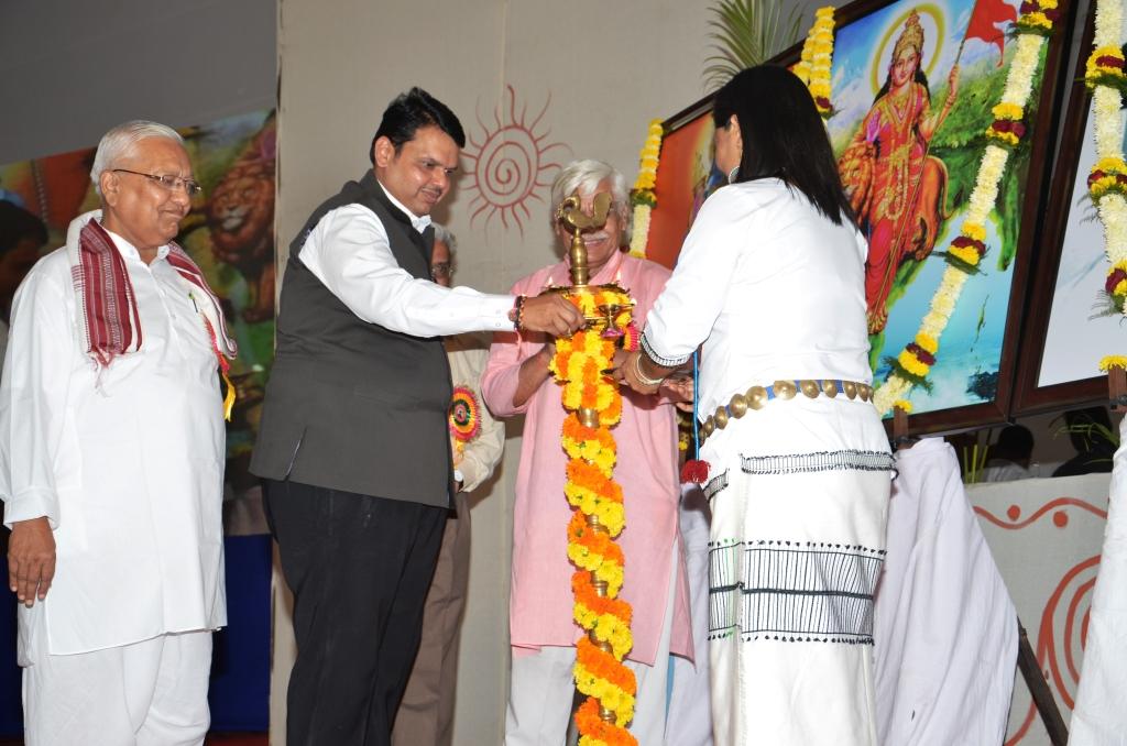 Devendra Fadnavis, Chief Minister of Maharashtra inaugurates the valedictory ceremony
