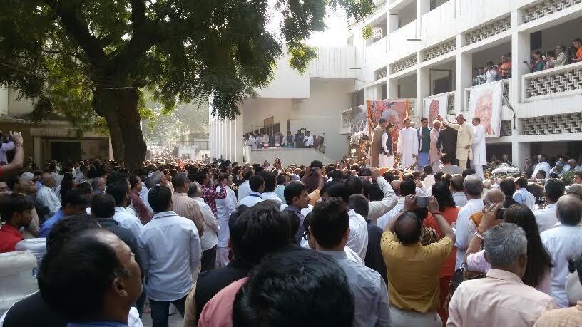 Antyeshthi Yatra Ashok ji Singhal
