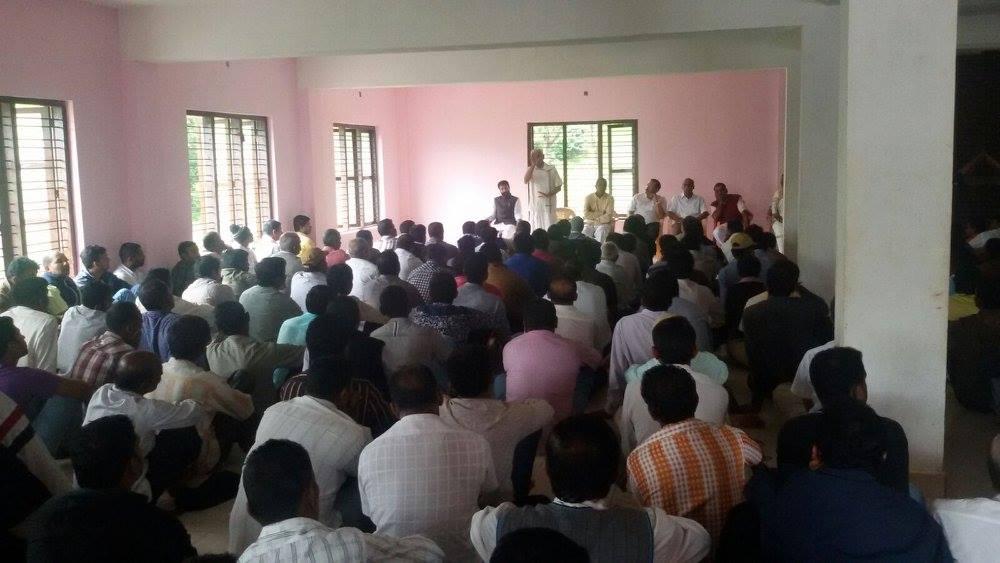 Shraddhanjali Sabha for DS Kuttappa at Somavarapete, Kodagu