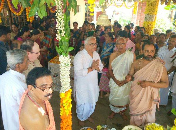 RSS Sarakaryavah Suresh Bhaiyyaji Joshi attends DATTA JAYANTI ceremony at Manipal, Karnataka