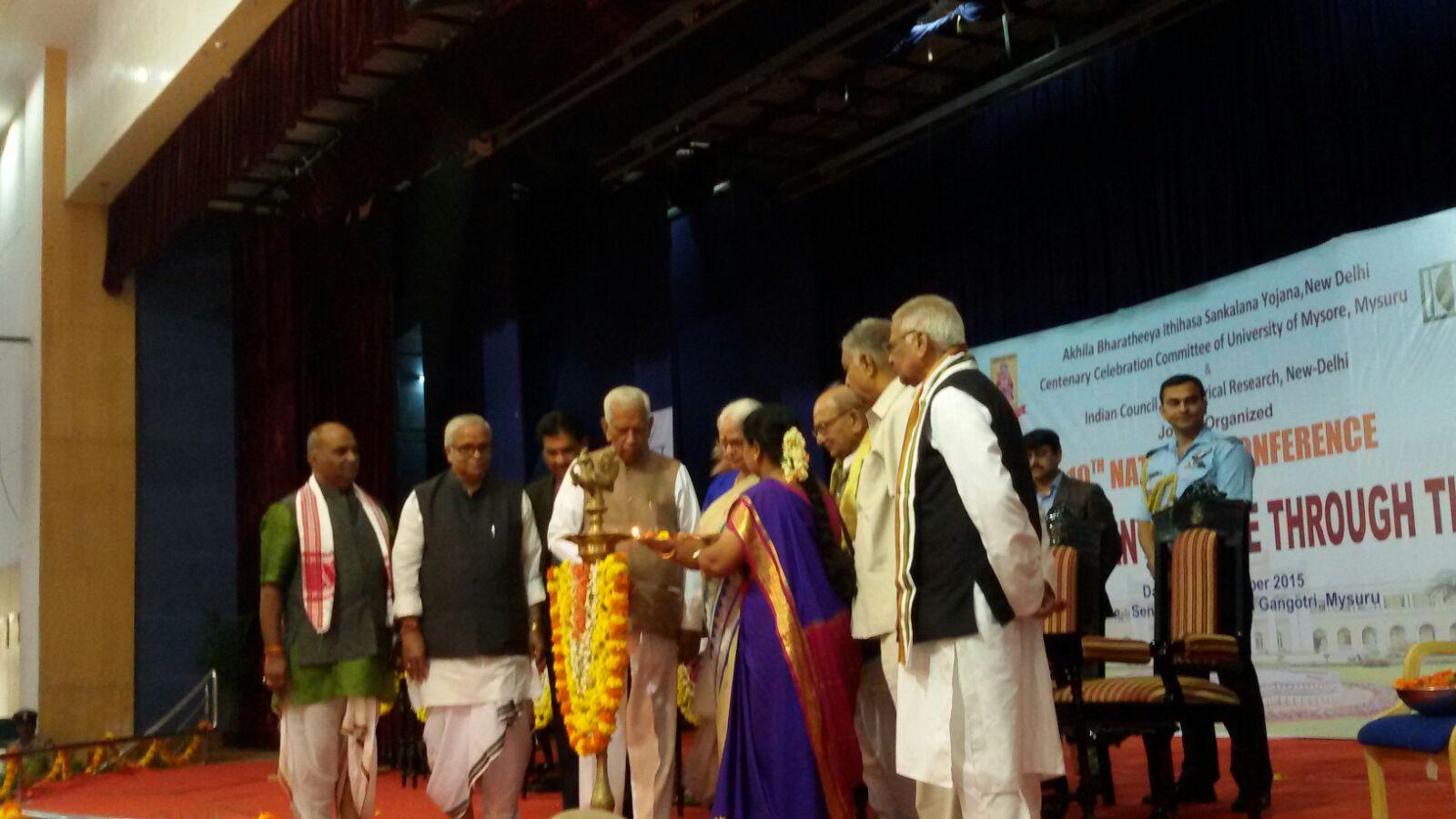 Itihas Sankalan Samiti's 10th National Conference begins at Mysuru; attended by Goa&Karnataka Governors, RSS Sarakaryavah Bhaiyyaji Joshi