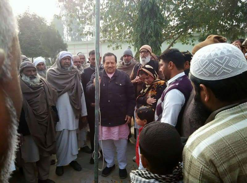 RSS Functionary Indresh Kumar hoisted National Flag in a Madrasa at Panchakula in Haryana