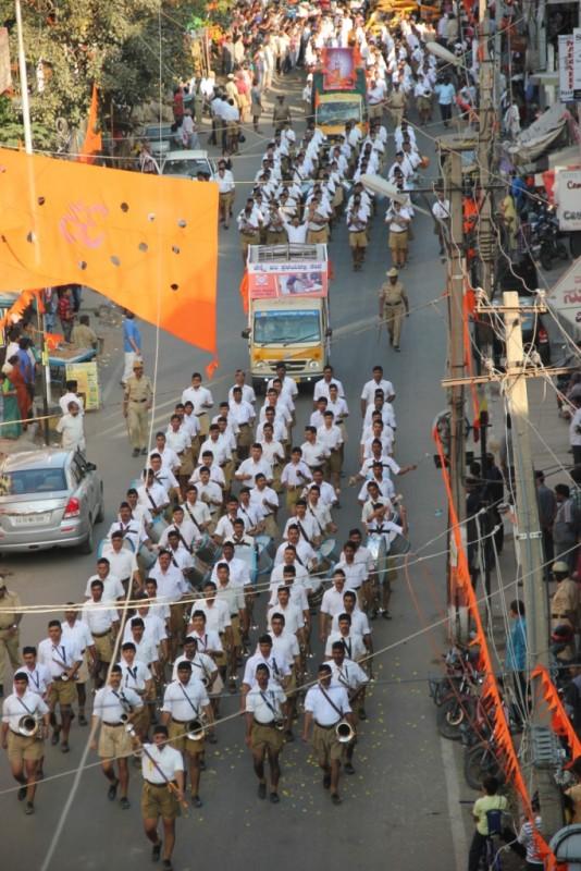 RSS Shrung Ghosh Sanchalan Bengaluru Jan-9-2016 (17)