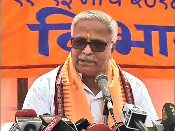 Suresh Bhayyaji Joshi at ABPS Press Meet