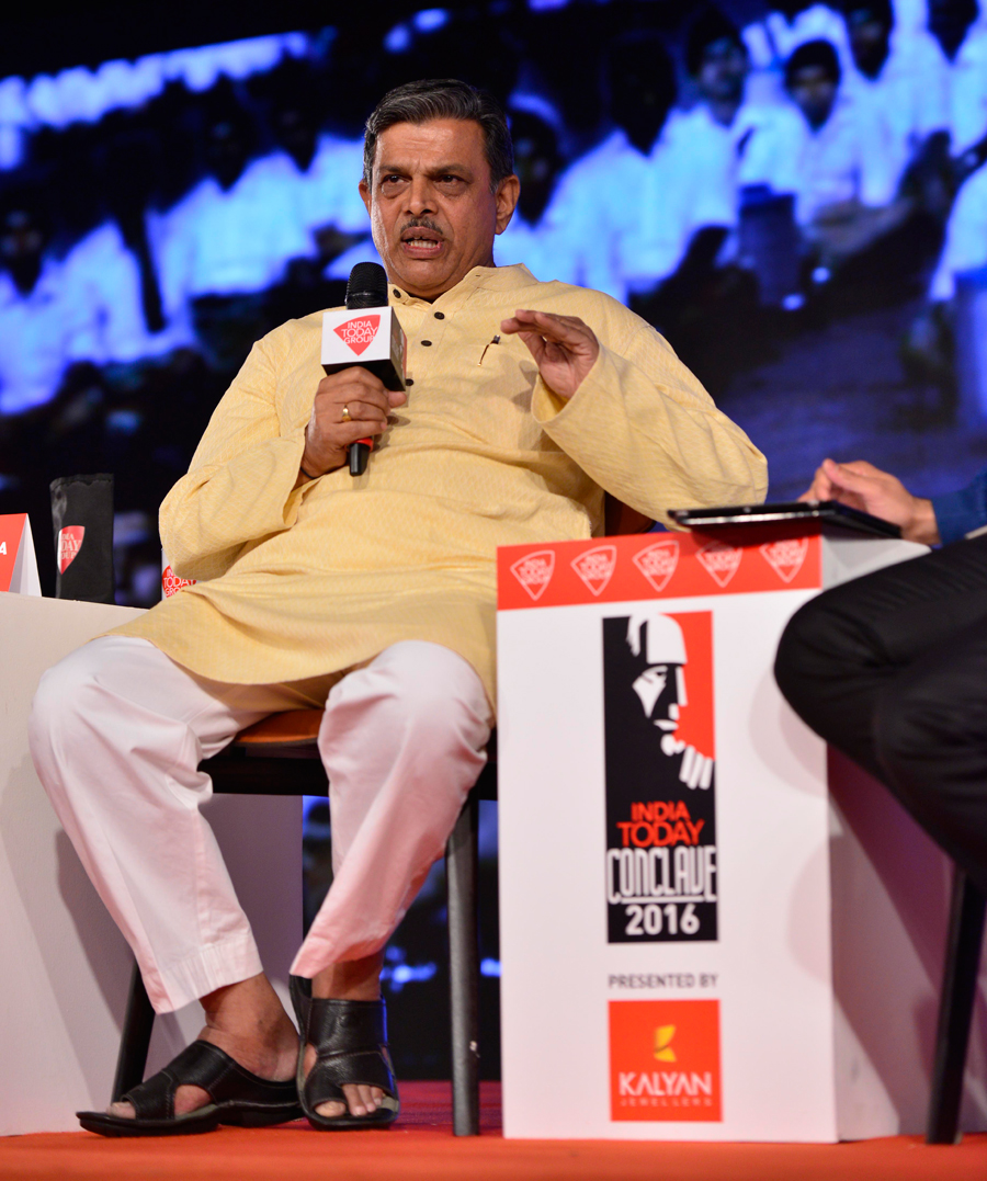 DATTTREYA HOSABALE AT INDIA TODAY CONCLAVE-1