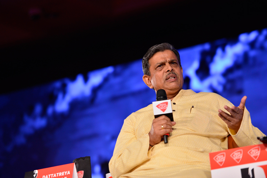 DATTTREYA HOSABALE AT INDIA TODAY CONCLAVE-2