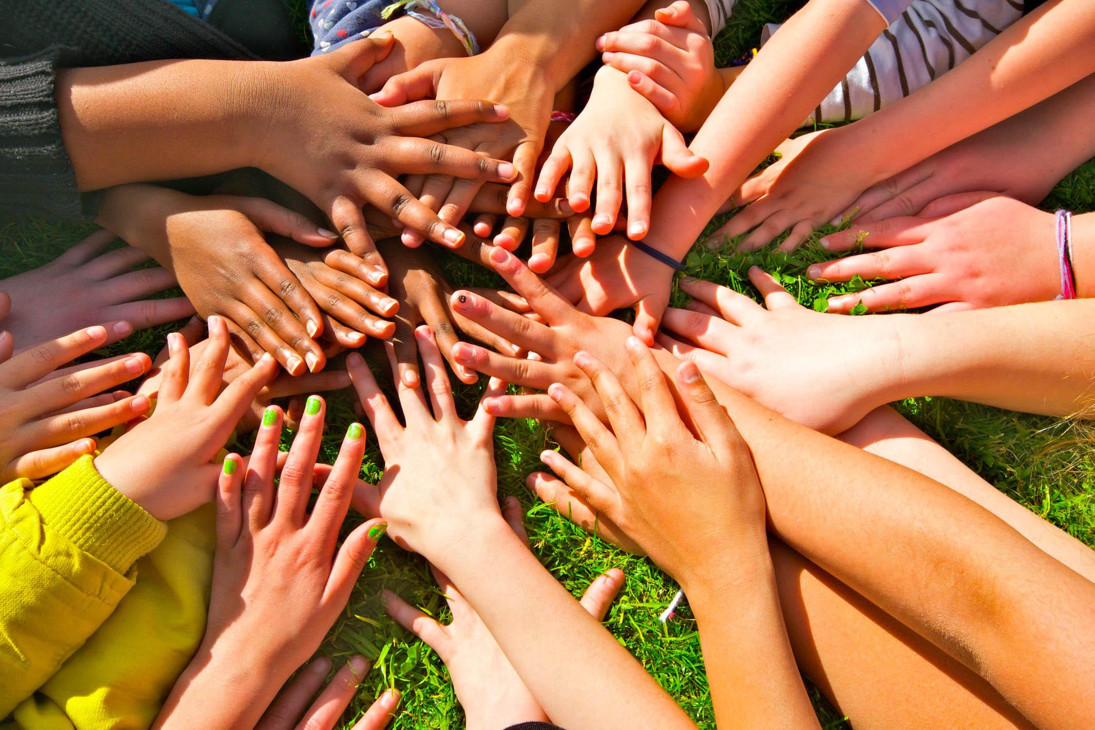Racial-Harmony-Hand-in-Hand