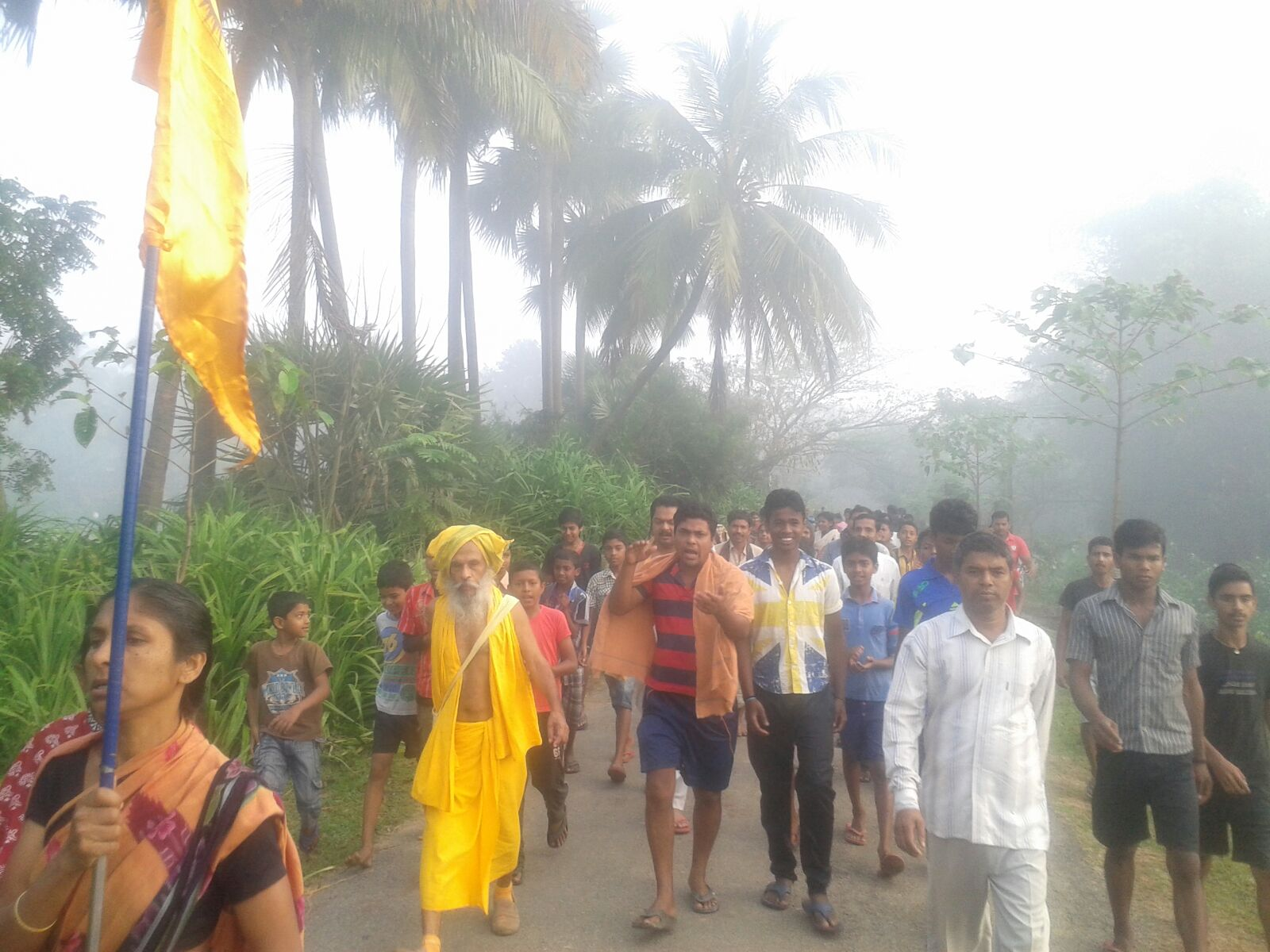 Bharat Parikrama Yatra enters Chhattisgarh on Day-1387; Yatra to conclude at Kanyakumari on July 9, 2017