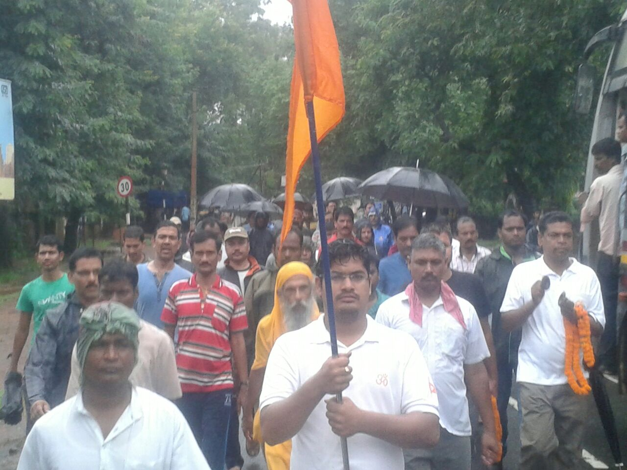 Bharat Parikrama Yatra in Odisha