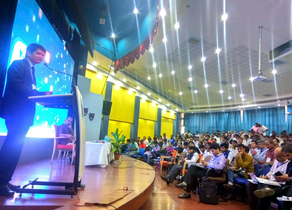 Tufail Ahmad addressing