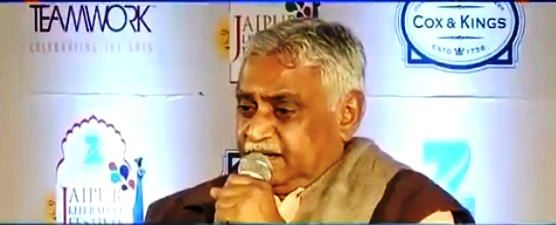 'As long as there is inequality in society there will be reservations, Reservation in India is essential for upliftment of the discriminated': Dr Manmohan Vaidya, RSS at Jaipur Literature Festival