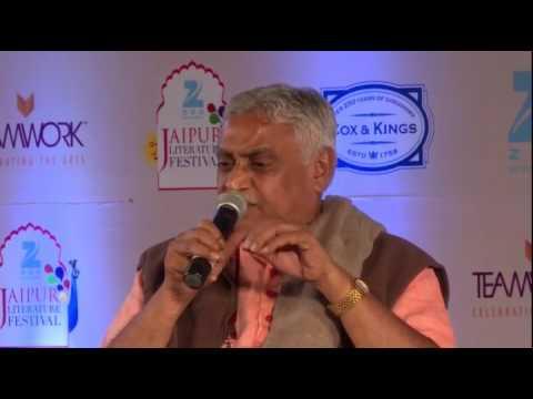 VIDEO: Saffron and the Sangh – RSS's Dattatreya Hosabale. Dr Manmohan Vaidya at Jaipur Literature Festival