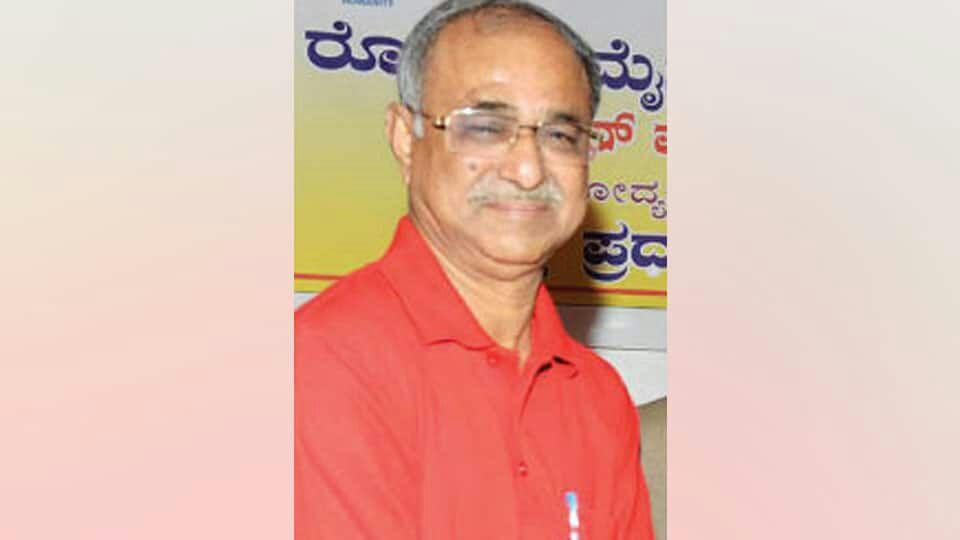 RSS expresses condolences on the sad demise of senior journalist Rajashekar Koti