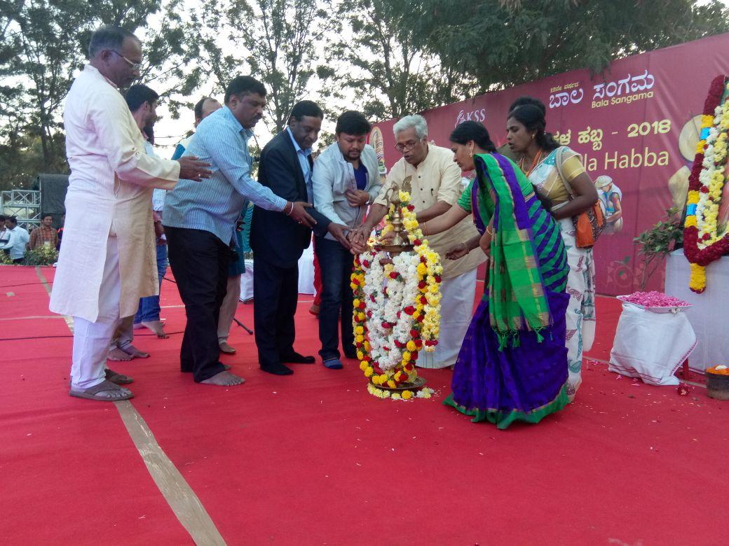 Keshava Seva Samiti's Bala Sangama; 1500 Children participated