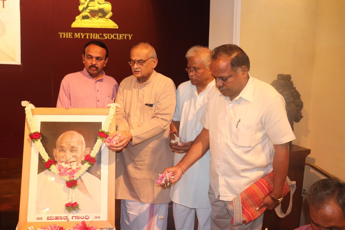 Mahatma Gandhiji a faithful and a conscious Hindu : Sri V Nagaraj