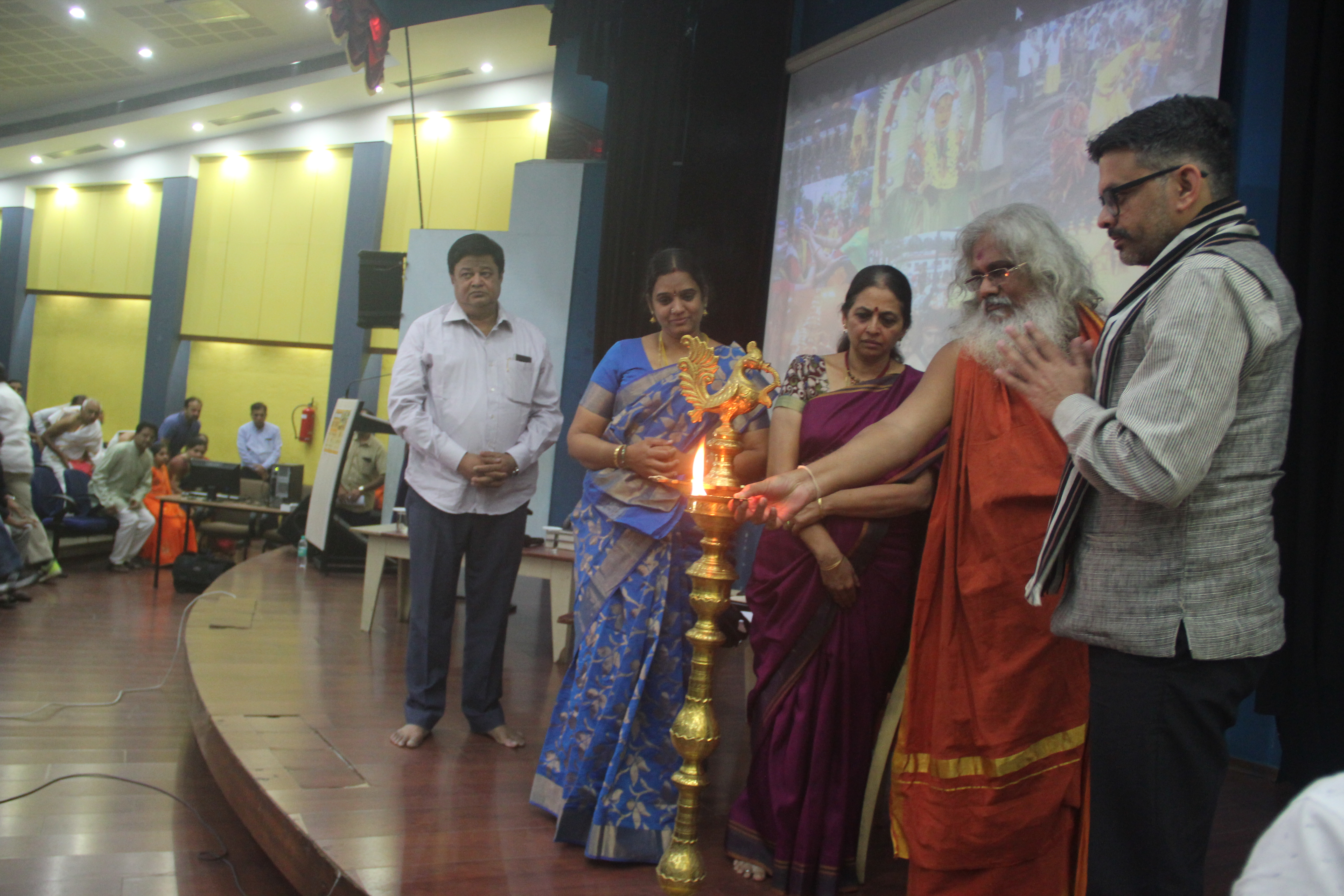 """""""Unified voice, collective intellectual fight is the need of the hour"""" #SaveTempleTraditions event"""