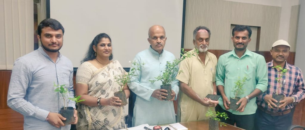 State Level One Crore Sapling Plantation drive organised by Samartha Bharata
