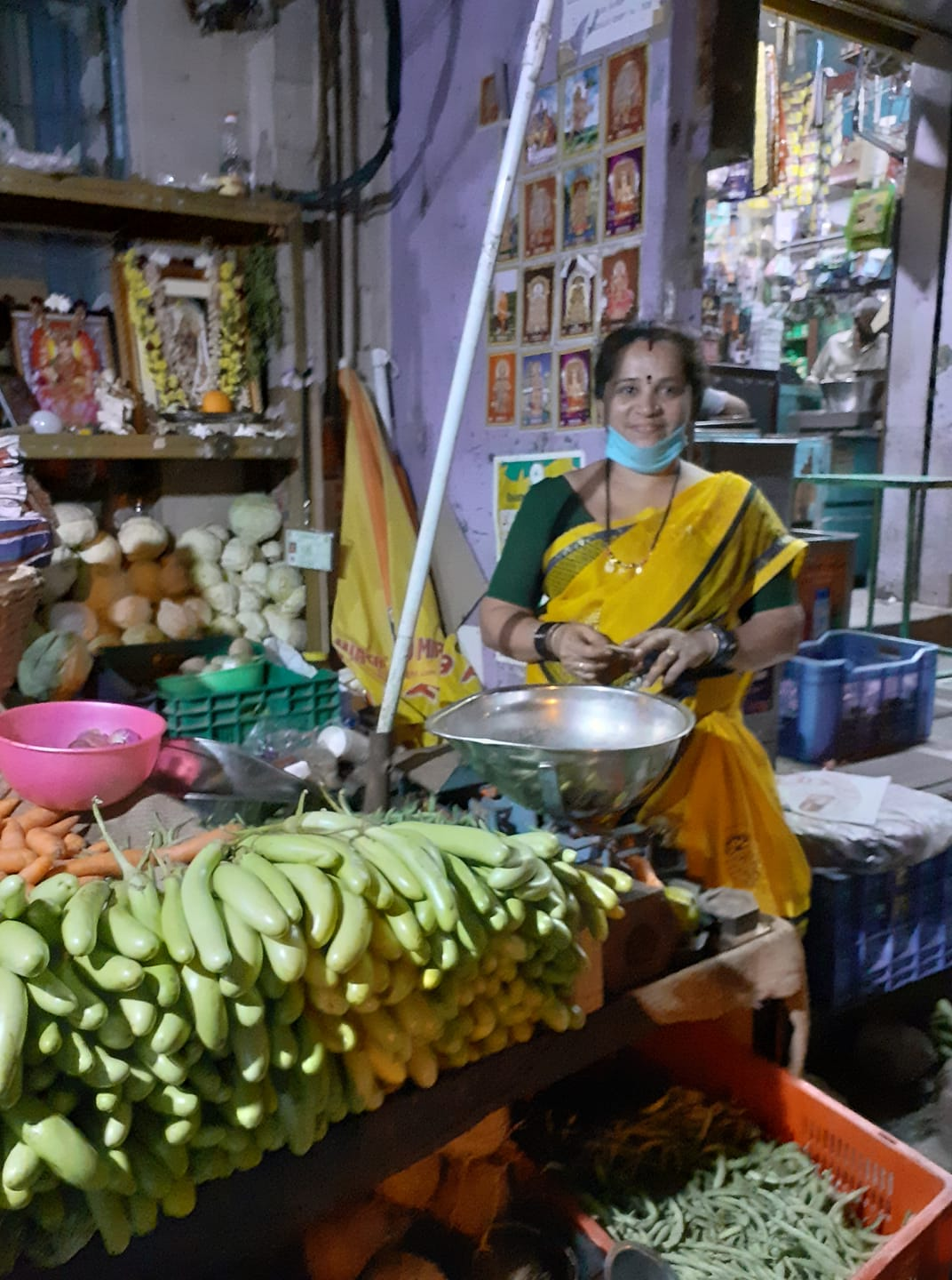 Mamata, the vegetable vendor and her Seva to the society