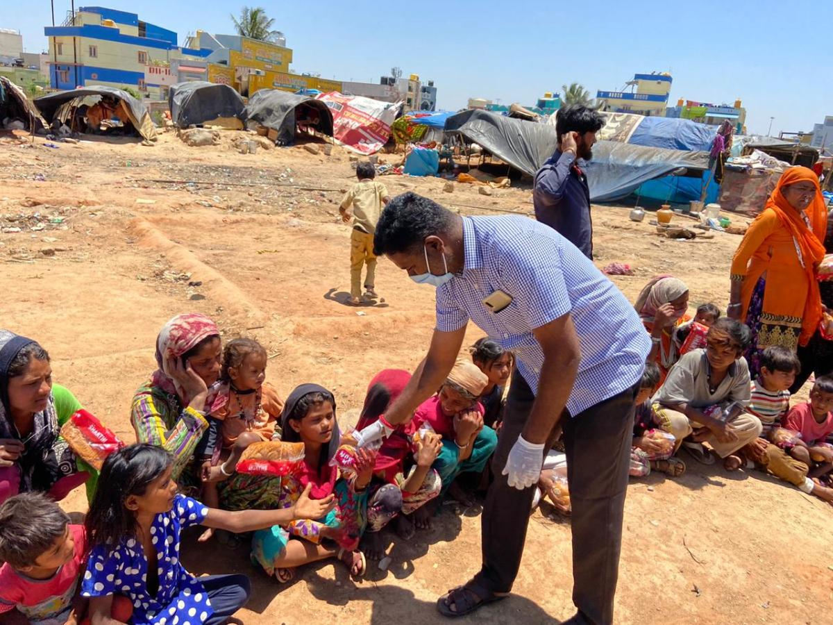 Serving Tamilians with food and shelter in Mandya and helping sexual minorities