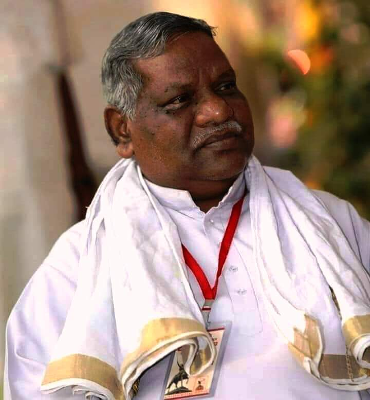 Shri Jagdevram Uraonji, President, Akhil Bharatiya Vanvasi Kalyan Ashram passed away today #Shraddhanjali