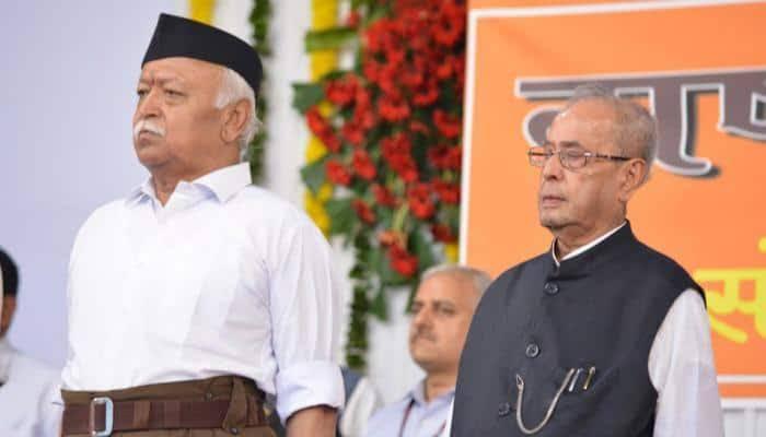 Sarsanghachalak Dr. Mohan Bhagwat remembers Former President, Dr. Pranab Mukherjee