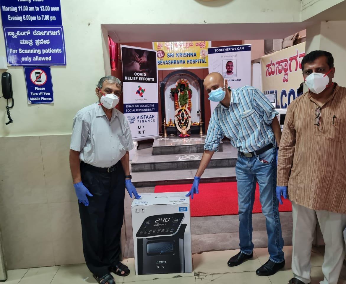 Samarpaka's Holistic Approach to Covid Relief in Karnataka