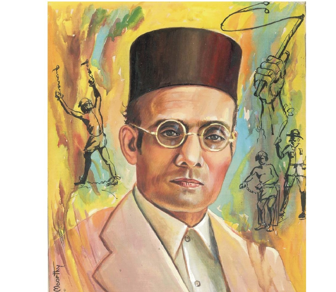 Why Congress MPs boycott tribute ceremony for Savarkar on his birth day?  writes LK ADVANI