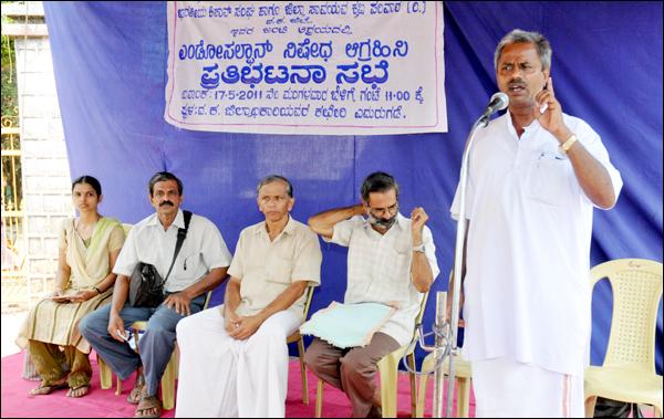 Kisan Sangh & Saavayava Krishi Parivar demands immediate Ban on Endosulfan