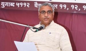 Dr Manmohan Vaidya. Akhil Bharatiya Prachar Pramukh RSS