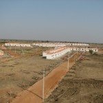Houses constructed by Sevabharati for North-Karnataka flood victims at Hole Alur,Gadag District